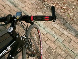 クロスバイクグリップ